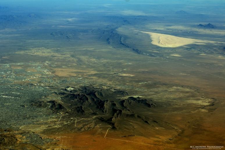 Chihuahuan Desert and Ciudad Juarez