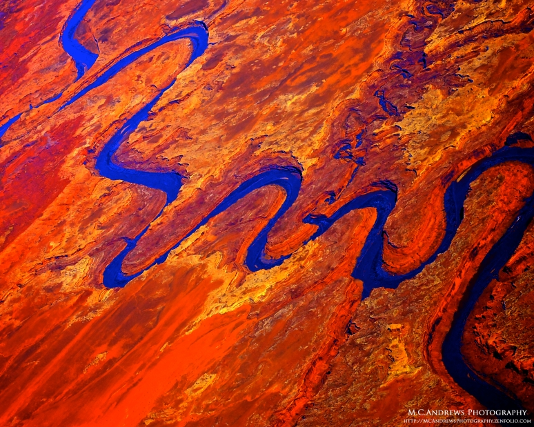 Abstract Scene: Colorado River