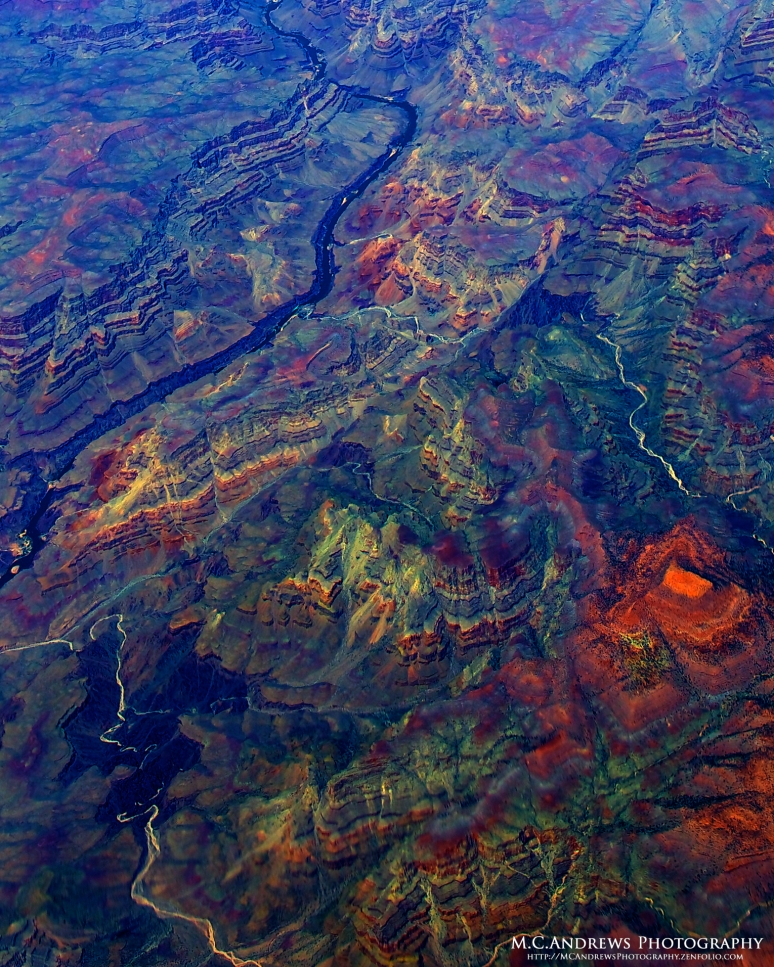 Tie-dyed - A Grand Canyon Abstract