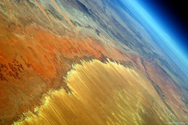 Brushstrokes in the Painted Desert