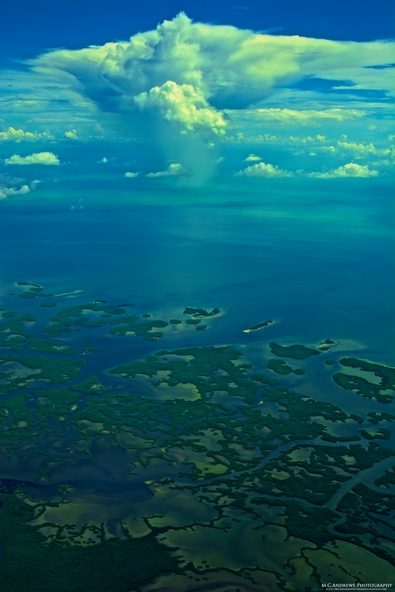Storm bears down on Everglades