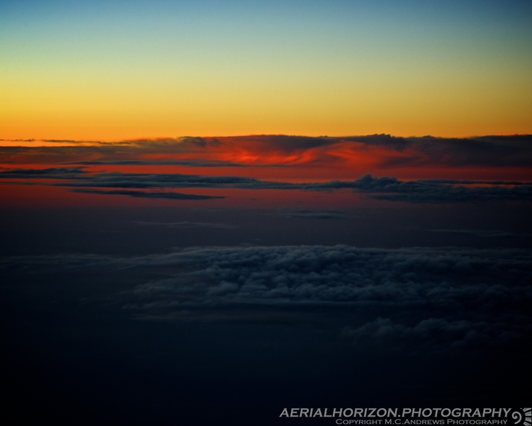 Swirl in sunset Northern Kansas