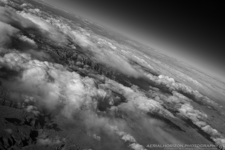 Grand Canyon Under Cover - BW