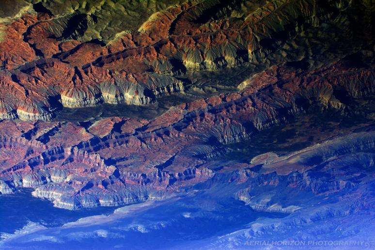 Abstract Inversion - Grand Canyon