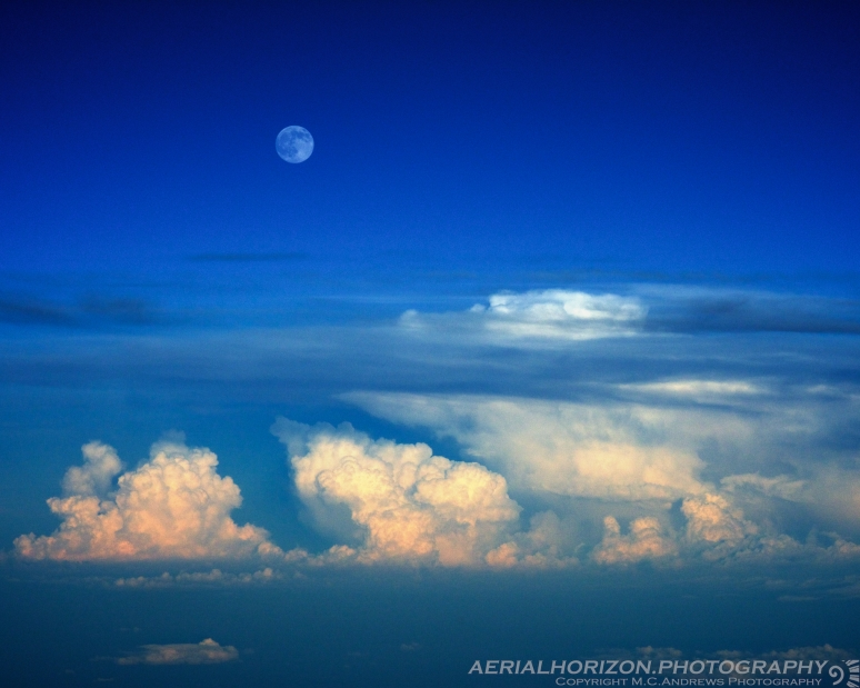 Blue Moon over Shenandoah Valley