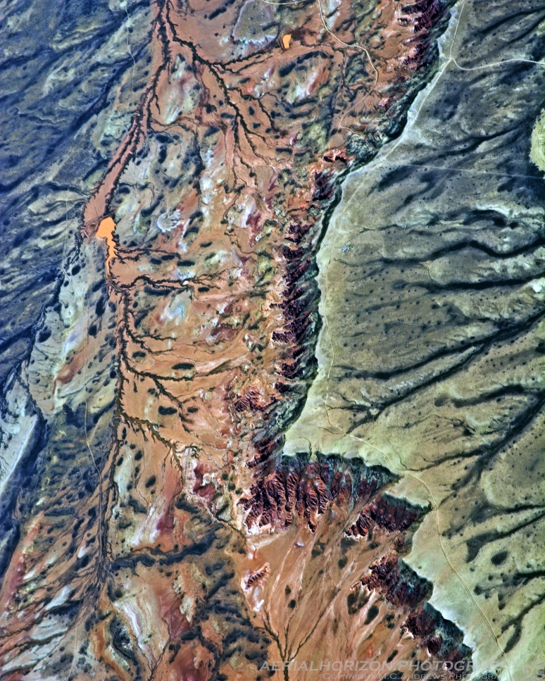 Topoglyph - Sweetwater County