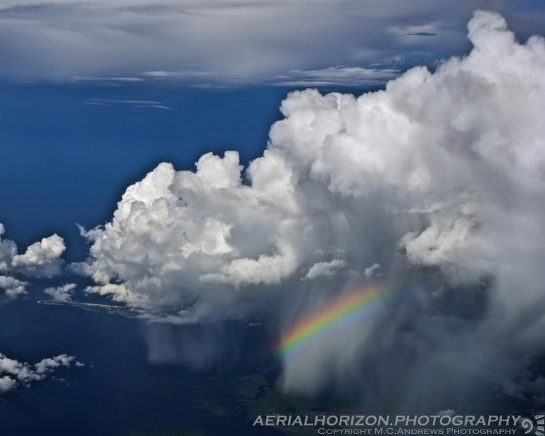 rainbow over gasparilla sound