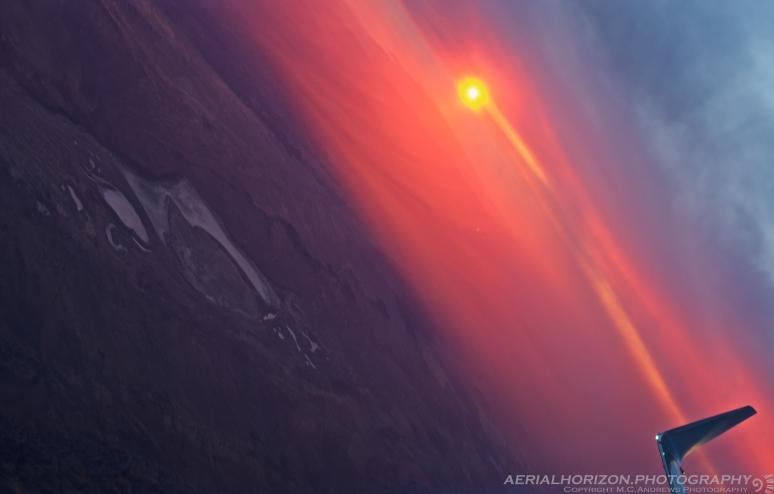 Sunset over Soda Lake - Carrizo Plain National Monument