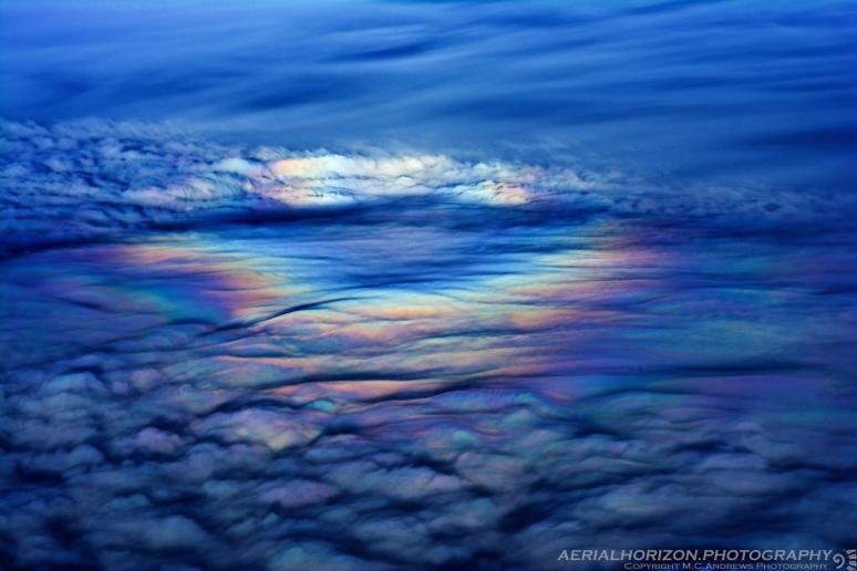 Glory over turbulent skies