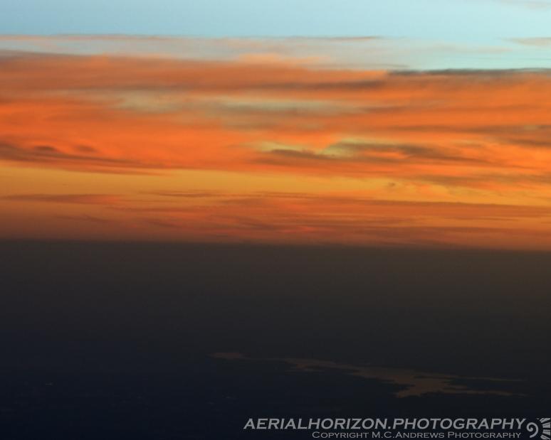 Last moments of daylight over Texarcana