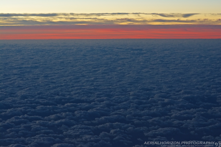 Sunrise Over a Sea of Clouds