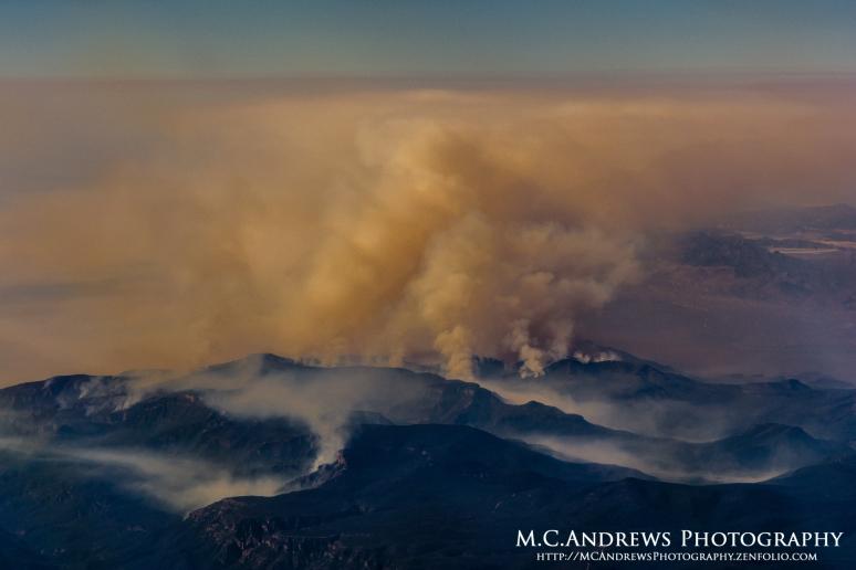 Fire on the Mountain - Aztec Peak