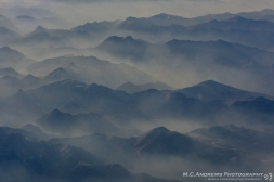 Mist Covered Ridges - Yosemite