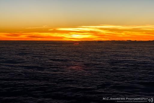 Descending Below the Aerial Horizon