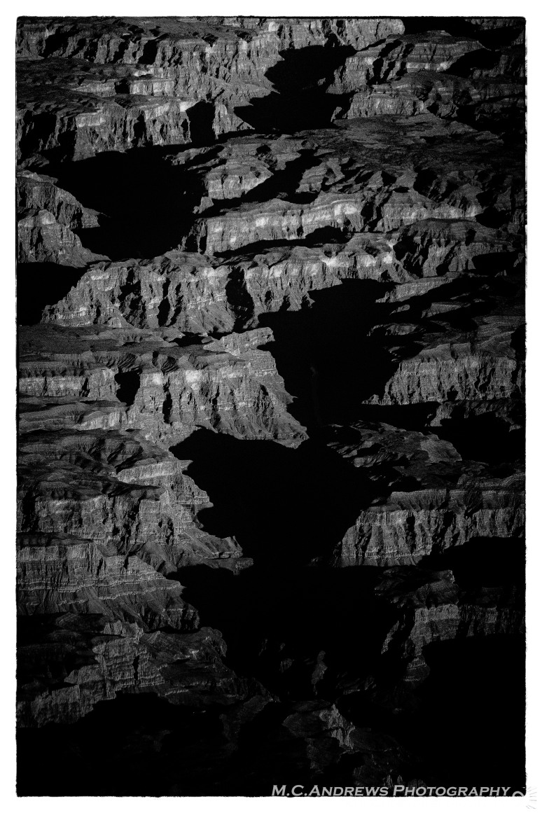 Morning Shadows - Grand Canyon--2