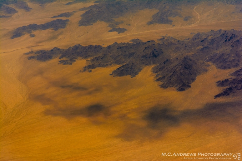 Abstract Landscape - Moutnains Floating on Desert