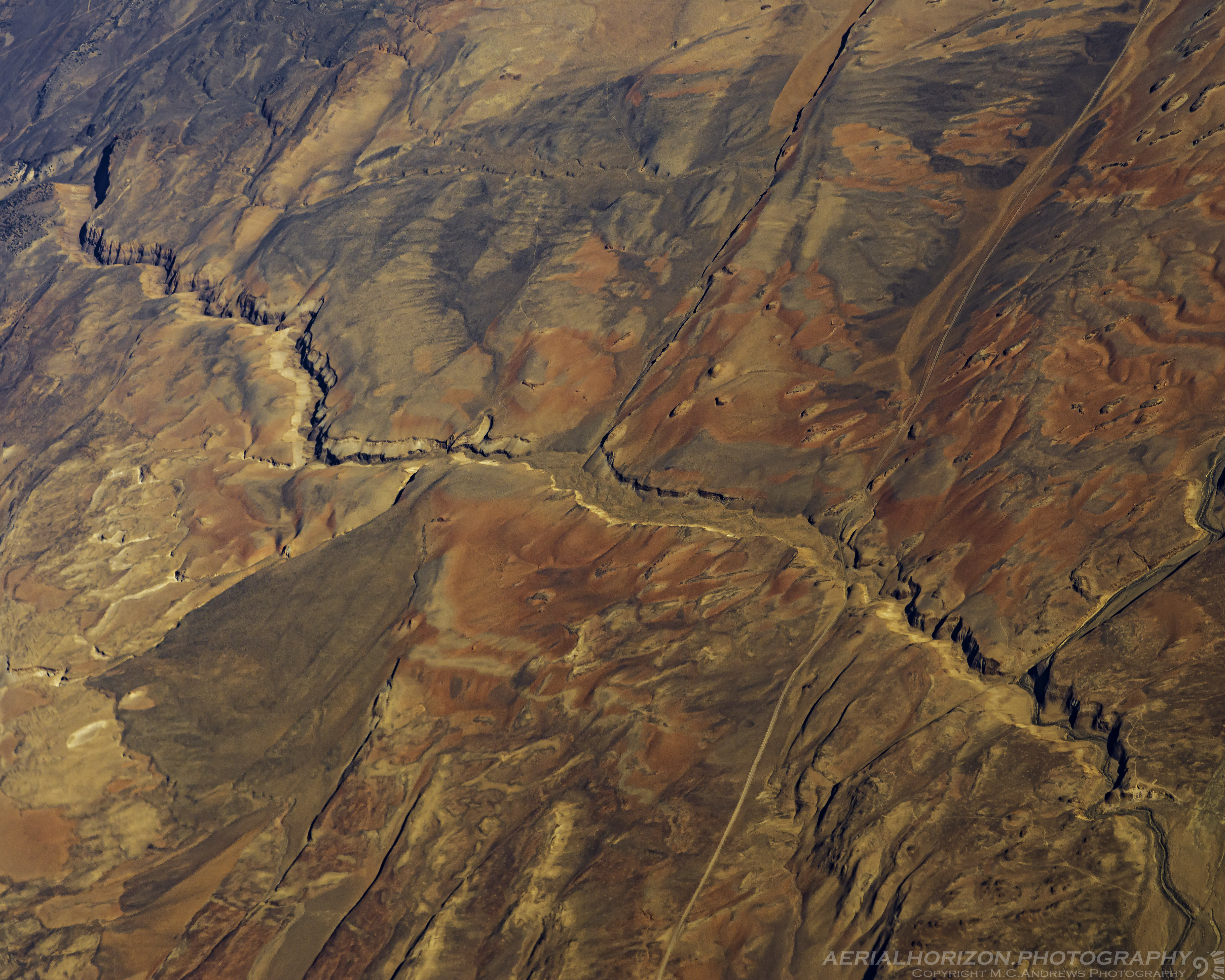 Abstract Landscape - A California Gorge-7319